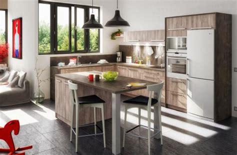 cuisine oleron cuisine moderne avec ilot central olona cuisines you
