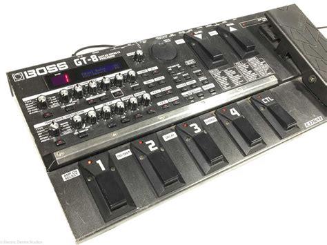 Efk Gitar Gt 8 gt 8 guitar multi effects processor pedal electric