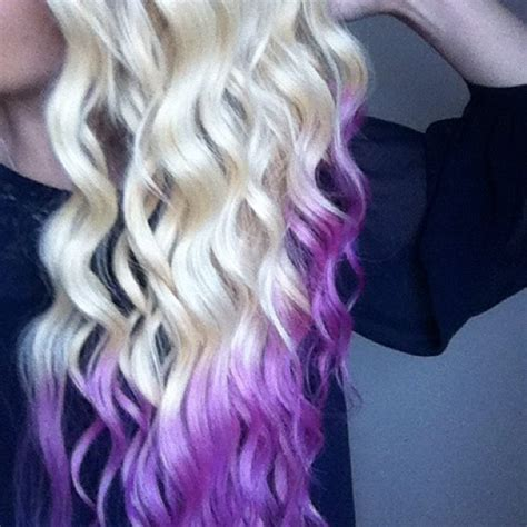 25 Best Ideas About Blonde Dip Dye On Pinterest Pink