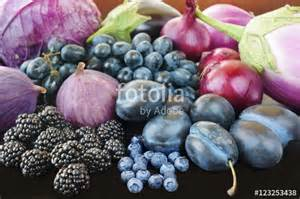 Blue Purple Fruits and Vegetables