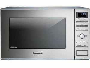 Panasonic 1 2 Cu  Ft  Built Countertop Microwave Oven