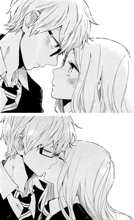 anime couple black and white wallpaper fotos de casal se beijando em desenho imagens de amor