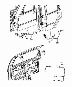 2012 Jeep Liberty Wiring  Liftgate