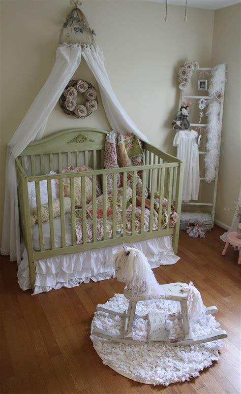 vintage inspired shabby chic nursery project nursery