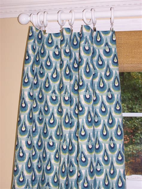 blue and green curtain panels ikat curtains teal