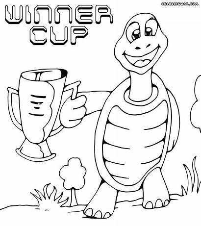 Cup Winner Coloring Colorings