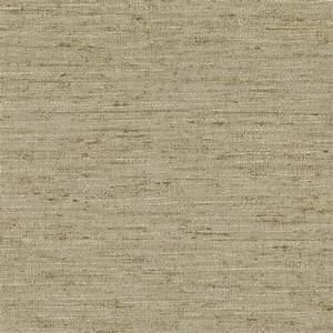 Brewster Bennie Brown Faux Grasscloth Wallpaper