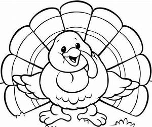 Cooked turkey template for Blank turkey template