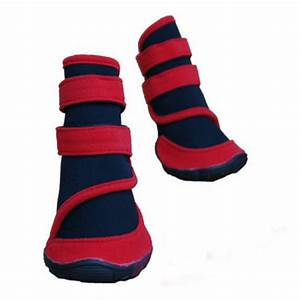 buy dog red waterproof booties prevent paws injury shoes With where can i buy dog shoes