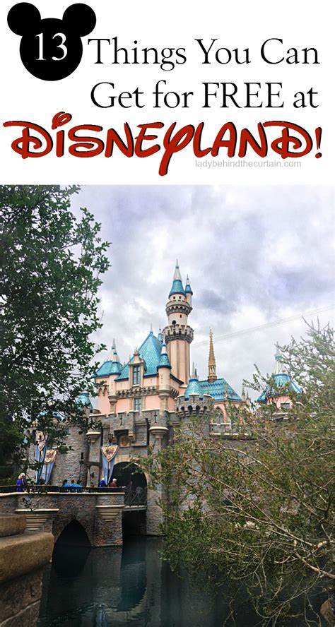 13 Things You Can Get For Free At Disneyland