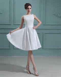 knee length wedding dresses taffeta bateau knee length lace mini wedding dress wedding inspirations