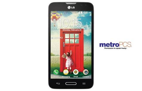 metro mobility phone number lg optimus l70 ms323 smartphone with 4 5 inch display