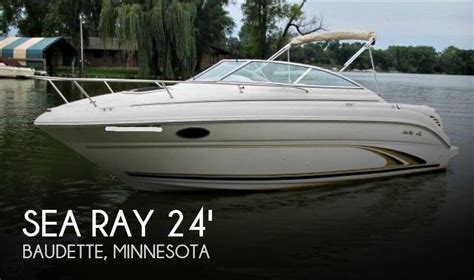 Sea Ray Boats Mn by 24 Foot Sea Ray 24 24 Foot Motor Boat In Pitt Mn