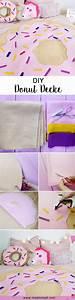 Decke Selber Nähen : diy donut decke ohne n hen tumblr zimmer deko selber machen ~ Lizthompson.info Haus und Dekorationen