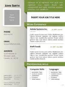 free resume templates for word 2015 gratuit modèle de curriculum vitae clean pour powerpoint