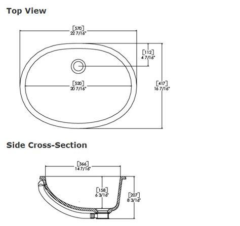 Sink Measurements - 30 bathroom sink dimensions standard standard bathroom