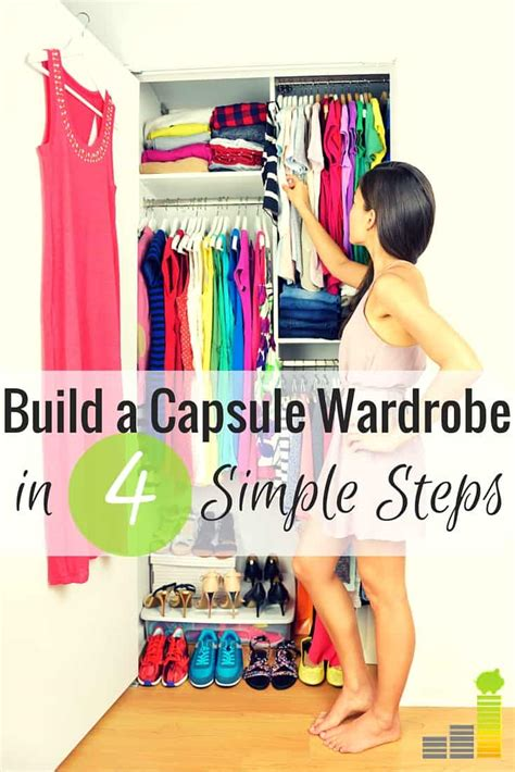 capsule wardrobe saves  money frugal rules