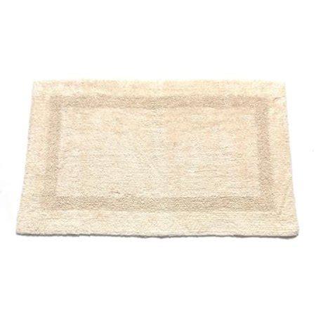 cotton  reversible bathroom rug brown walmartcom
