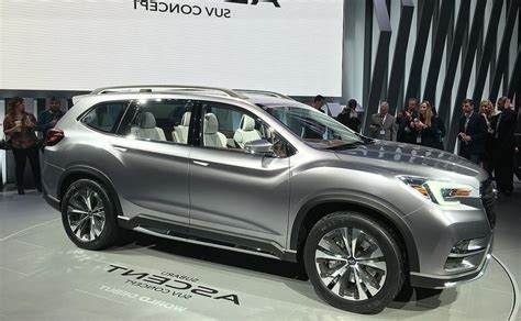 subaru ascent 2020 2020 subaru ascent powertrain suv models