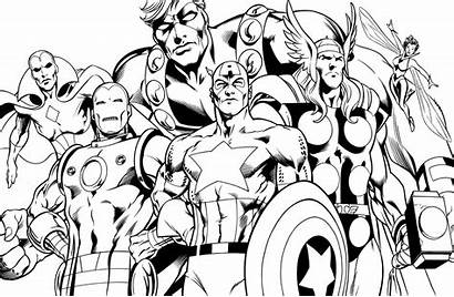 Coloring Superheroes Pages