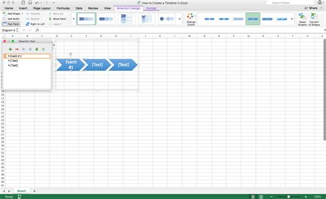 Excel Timeline Template How To Create A Timeline In Excel Template Teamgantt