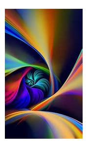 Colorful Spiral Rotation Line HD Abstract Wallpapers   HD ...