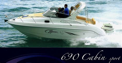 saver 690 cabin sport nuova saver