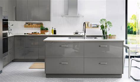 ikea cuisine grise cuisine ikea ringhult gris idées de décoration et de