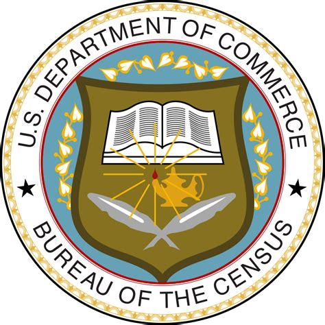 bureau distance file seal of the united states census bureau svg
