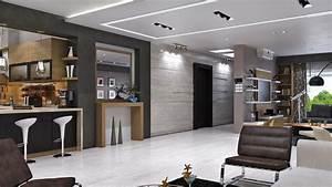 Moderne Design Villa : modern villa in dammam by mokhles mohamed 6 homedsgn ~ Sanjose-hotels-ca.com Haus und Dekorationen