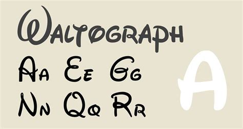 Best Free Disney Fonts You Should Have In Your Collection