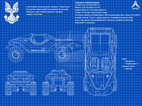 halo warthog blueprints m12 warthog fav schematics by masterchieffox on deviantart