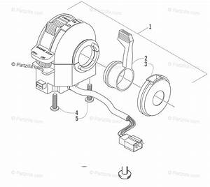 Arctic Cat Atv 2000 Oem Parts Diagram For Control Switch