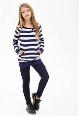 Skinny jean teen clothing by