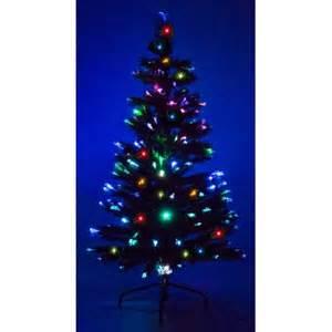 7 ft fiber optic green artificial tree