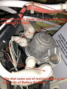 Trickle Charge Resistor On Inside Top Of Auxiliary Power
