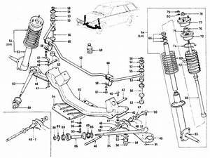 Datsun 510 Front Axle  U0026 Suspension
