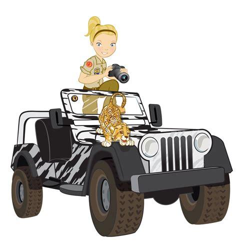 safari truck clipart safari truck and ranger preschool africa theme craft