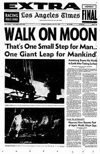 Apollo 11 Newspaper Article - Pics about space