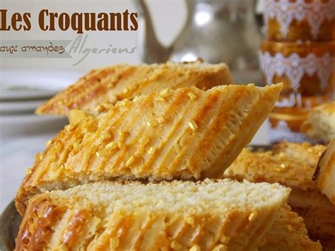 recette de cuisine samira croquets ou croquants gateau algerien le cuisine