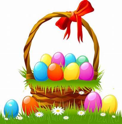 Easter Clipart Egg Basket Bsket Clip Eggs