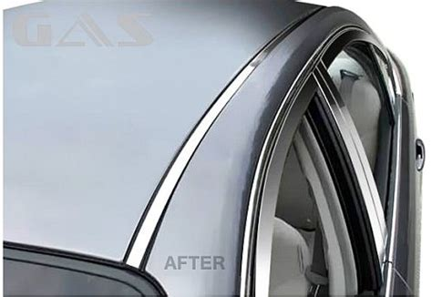 volvo chrome roof molding trim chrome accessories