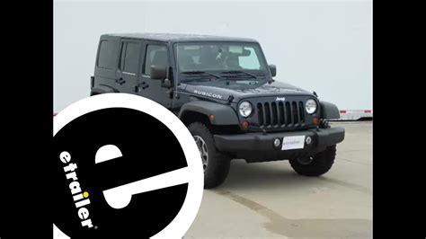 Installation Trailer Wiring Harness Jeep