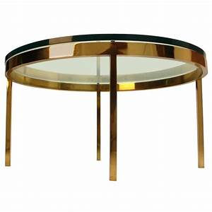 nicos zographos solid brass coffee table for sale at 1stdibs With solid brass coffee table