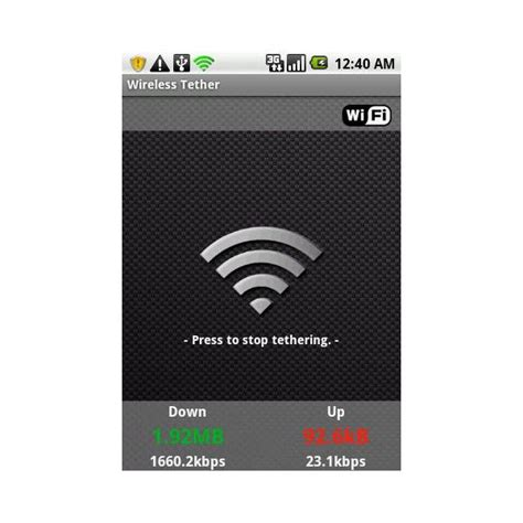 android wifi tether wireless tether for root users android