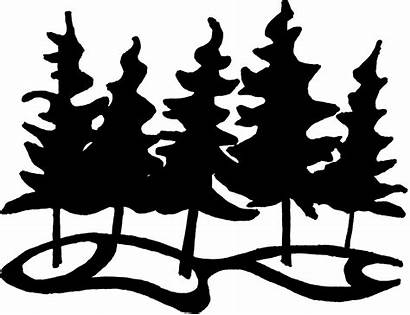Clipart Clip Forest Nature Animals Outline Perfect