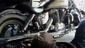 Honda Shadow Exhaust Leak    Backfiring Fix