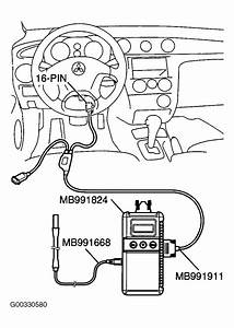 2003 Mitsubishi Outlander Serpentine Belt Routing And