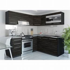 Cuisine equipee complete pas cher cuisine en image for Petite cuisine équipée avec meuble de salle a manger complete