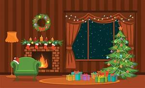 Best Fireplace Illustrations, Royalty-Free Vector Graphics ...